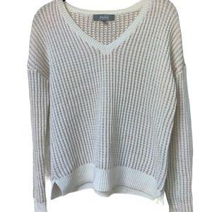 Marled Reunited Clothing Metallic Sweater Small